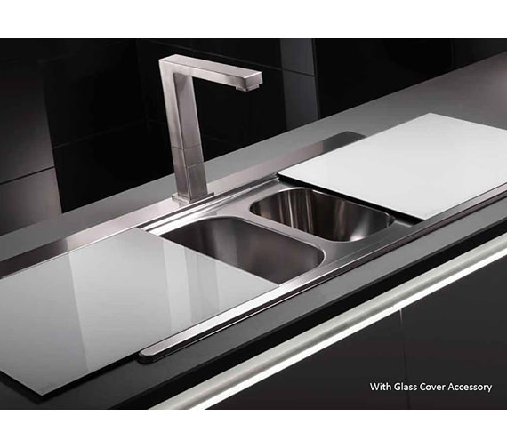 Abode Maxim 1.5 Bowl Kitchen Sink - AW5035 - AW5036