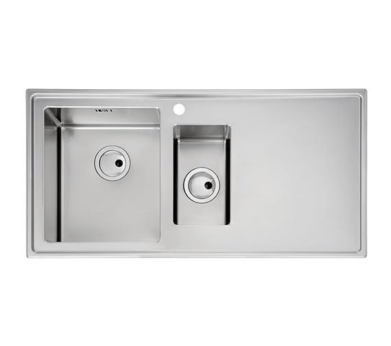 Additional image of Abode Theorem 1.5 Bowl Kitchen Sink - AW5031