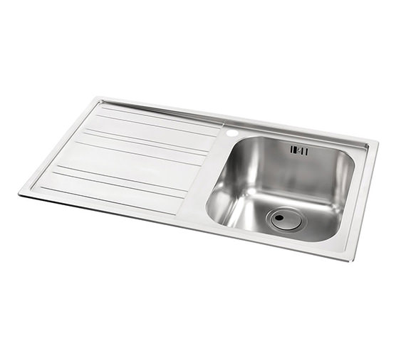 Additional image of Abode Kode 1.0 Bowl Kitchen Sink AW5037 - AW5038