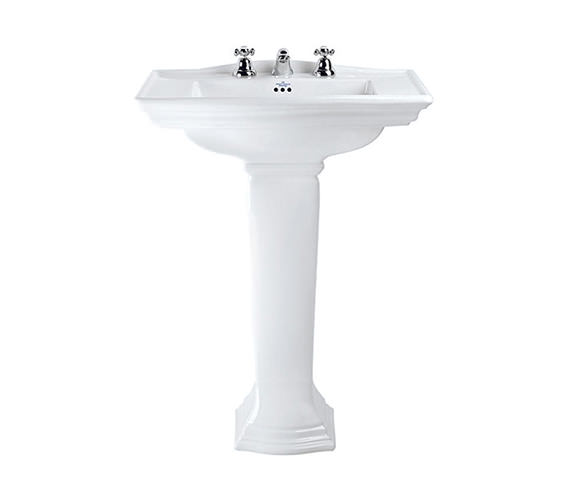 Imperial Westminster Large Basin And Full Pedestal 685mm - WM1LB11030