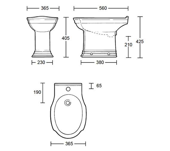 Technical drawing QS-V39220 / WM1BI11030