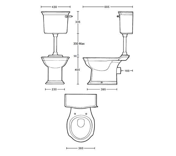 Technical drawing QS-V39223 / WM1WC01030