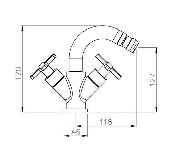 Technical drawing QS-V39229 / AB1071