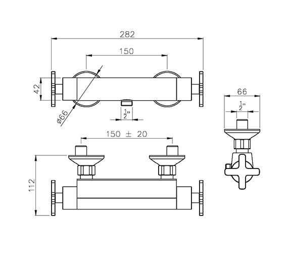 Technical drawing QS-V39234 / AB2106