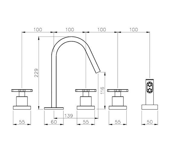 Technical drawing QS-V39235 / AB1070