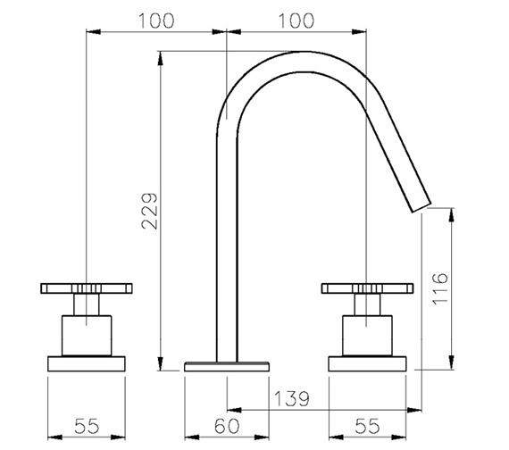 Technical drawing QS-V39237 / AB1068
