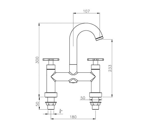 Technical drawing QS-V39238 / AB1064