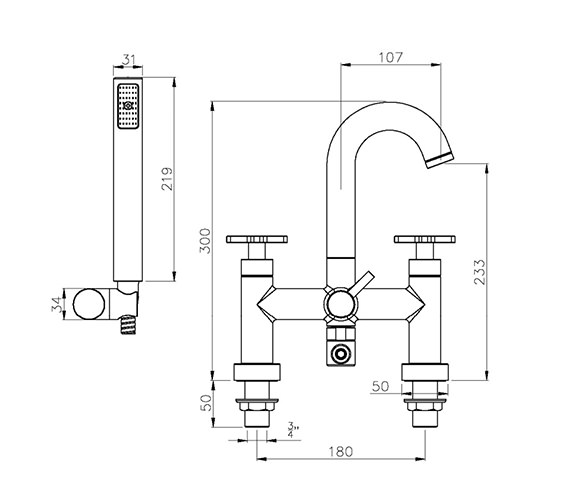 Technical drawing QS-V39239 / AB1065