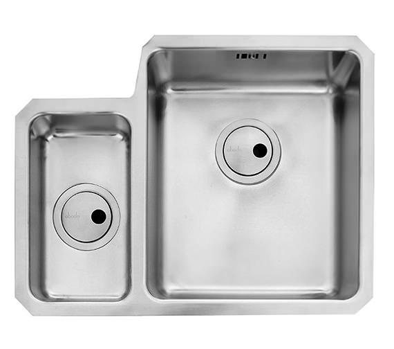Additional image of Abode Matrix R25 1.5 Bowl Undermount Stainless Steel Kitchen Sink