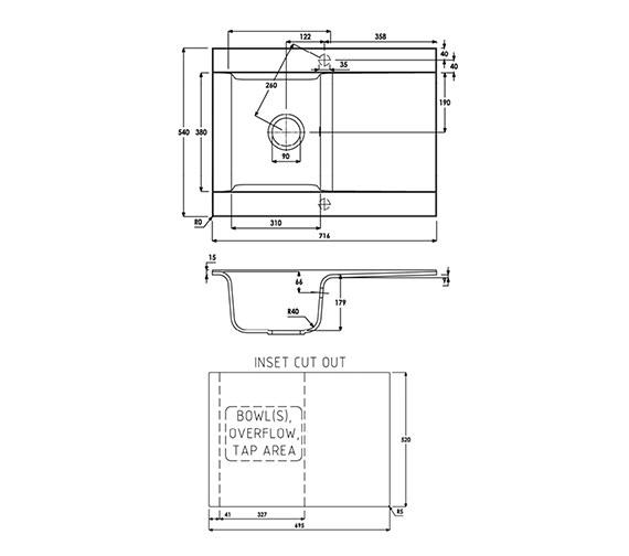Technical drawing QS-V39291 / AW3001