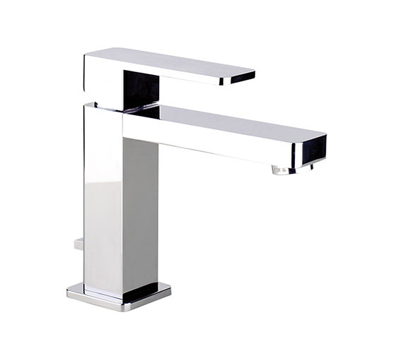 Abode Fervour Single Lever Basin Mixer Tap With Pop-up Waste - AB1241