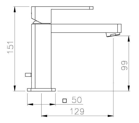 Technical drawing QS-V39300 / AB1241