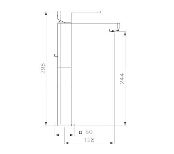 Technical drawing QS-V39301 / AB1242