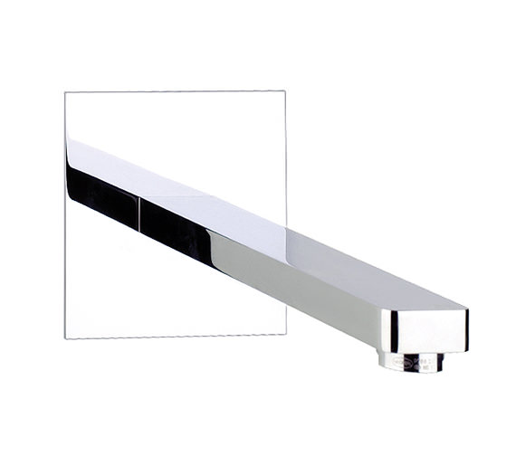 Abode Fervour Wall Mounted Basin - Bath Filler Spout AB1244