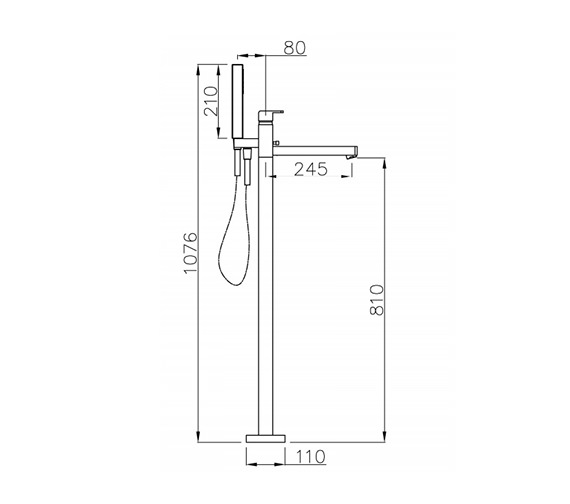Technical drawing QS-V39308 / AB1248