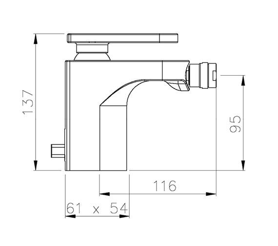 Technical drawing QS-V39313 / AB1003