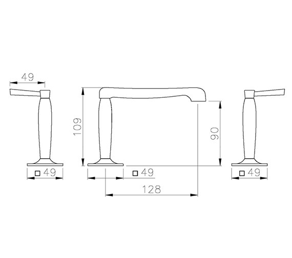 Technical drawing QS-V39341 / AB1303