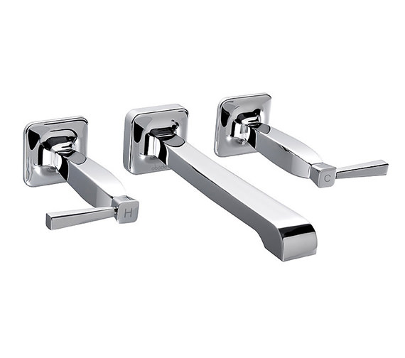 Abode Decadence 3 Hole Wall Mounted Bath Filler Tap - AB1307