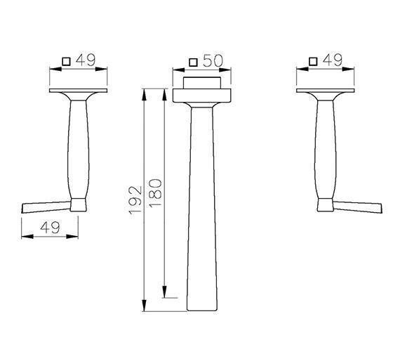 Technical drawing QS-V39346 / AB1307