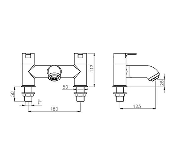 Technical drawing QS-V39347 / AB1155