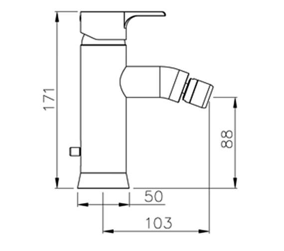 Technical drawing QS-V39351 / AB1160