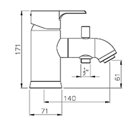 Technical drawing QS-V39358 / AB1163