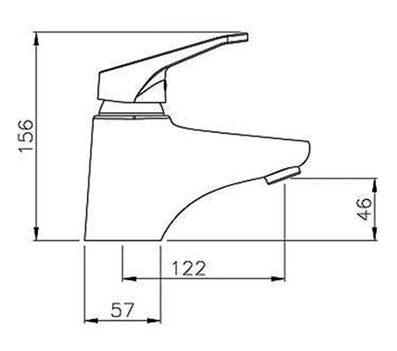 Technical drawing QS-V39360 / AB1219