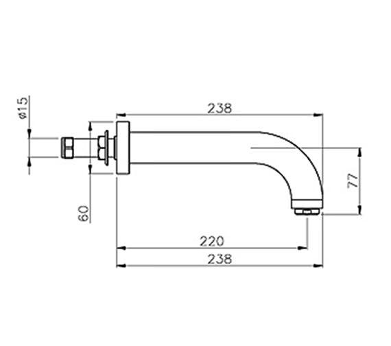 Technical drawing QS-V39361 / AB1158