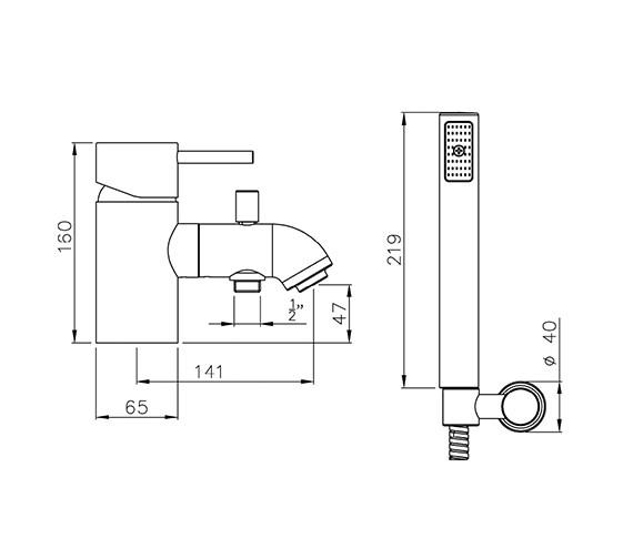 Technical drawing QS-V39373 / AB1193