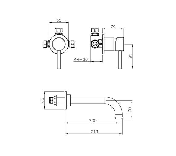 Technical drawing QS-V39376 / AB1187