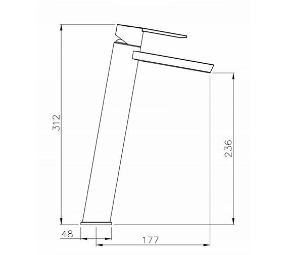 Technical drawing QS-V39379 / AB1353