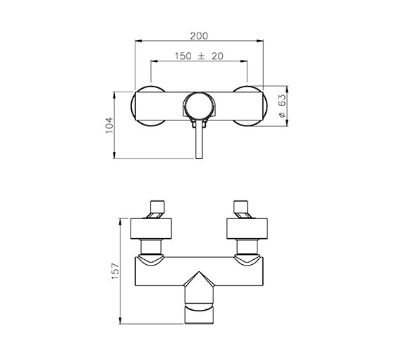 Technical drawing QS-V39386 / AB1194