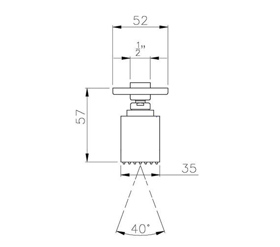 Technical drawing QS-V39387 / AB2425