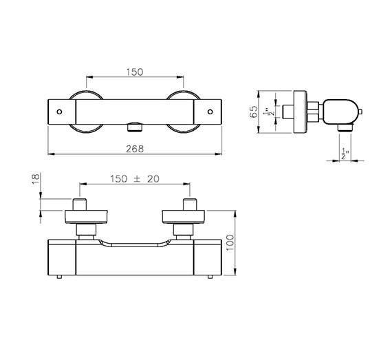 Technical drawing QS-V39399 / AB2105