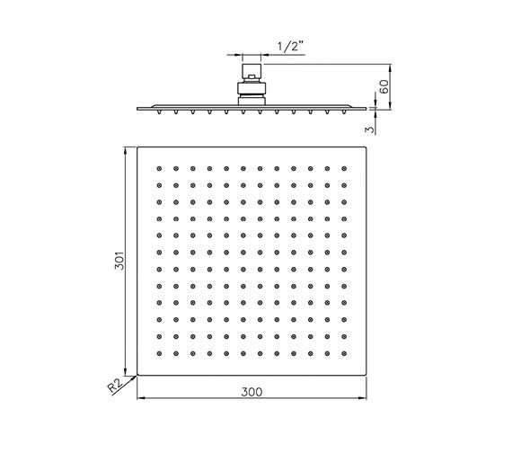 Technical drawing QS-V39417 / AB2429