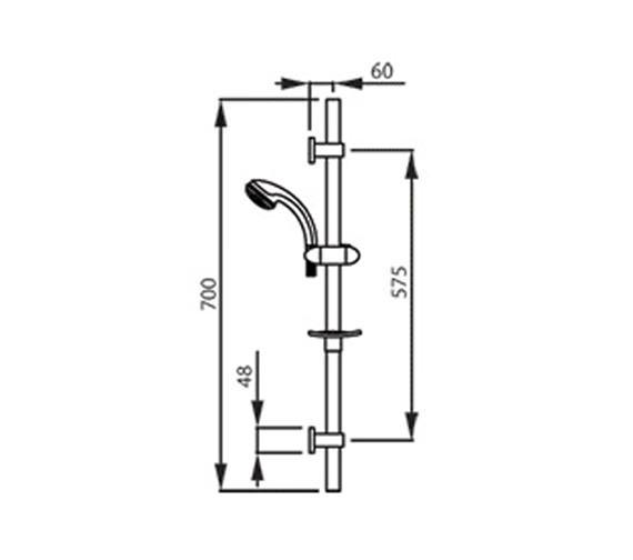 Technical drawing QS-V39423 / AB2307