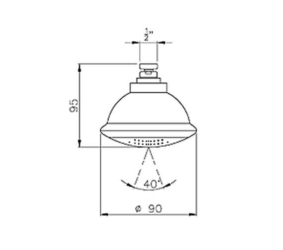 Technical drawing QS-V39444 / AB2413