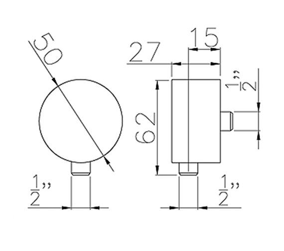 Technical drawing QS-V39445 / AB2420
