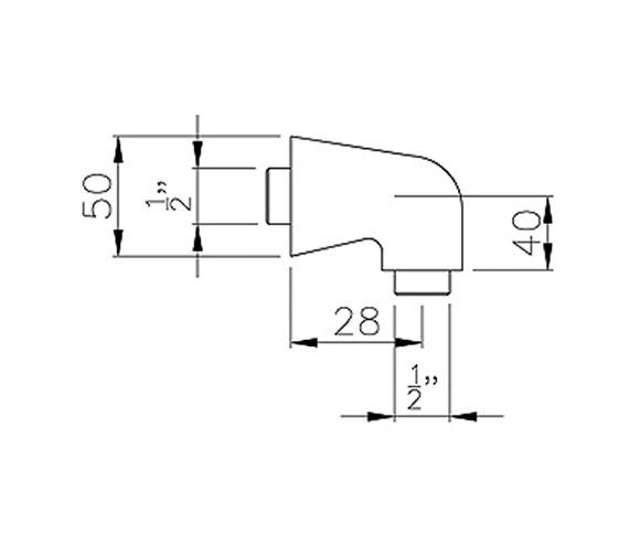 Technical drawing QS-V39448 / AB2421
