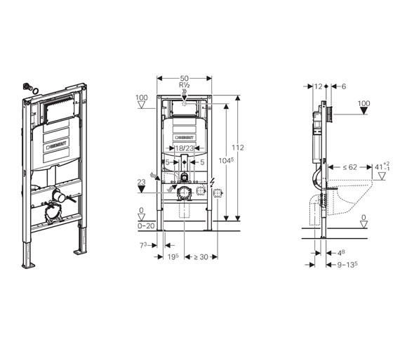 Technical drawing QS-V39525 / 111.384.00.5