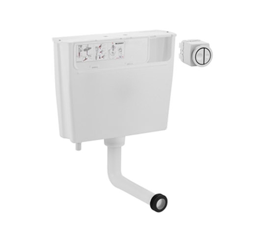 Geberit Pneumatic Operated Concealed Dual Flush Cistern - 109.720.00.1