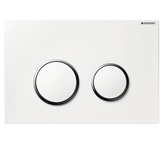 Geberit Sigma20 Dual Flush Plate White - 115.882.kj.1