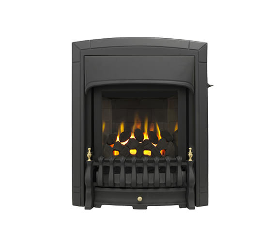 Valor Dream Slimline Homeflame Slide Control Inset Gas Fire Black