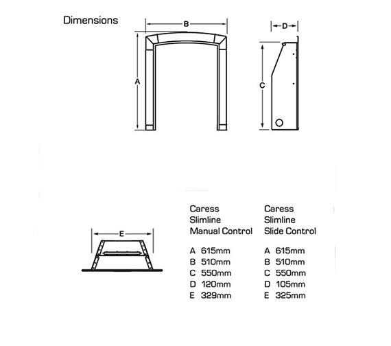 Technical drawing QS-V39731 / FSRCCCMN