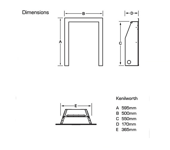 Technical drawing QS-V39740 / FRDC37RN