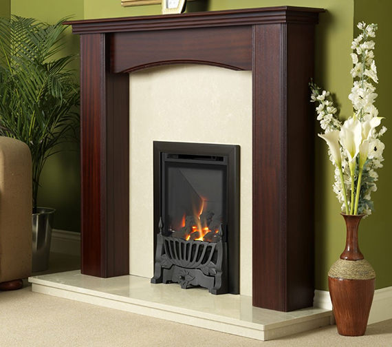 Flavel Kenilworth Manual Control HE Inset Gas Fire Black