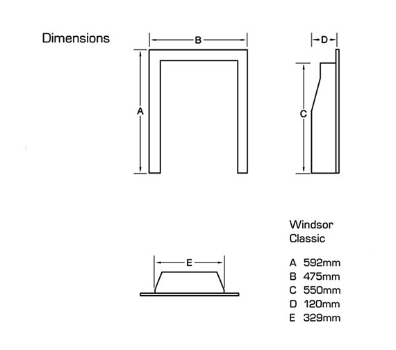 Technical drawing QS-V39750 / FSRC3WMN