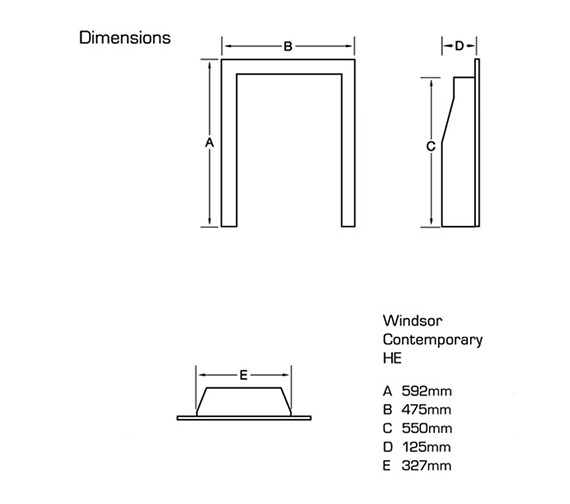 Technical drawing QS-V39757 / FSHCU0MN