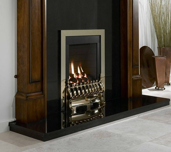 Flavel Windsor Manual Control Traditional Gas Fire