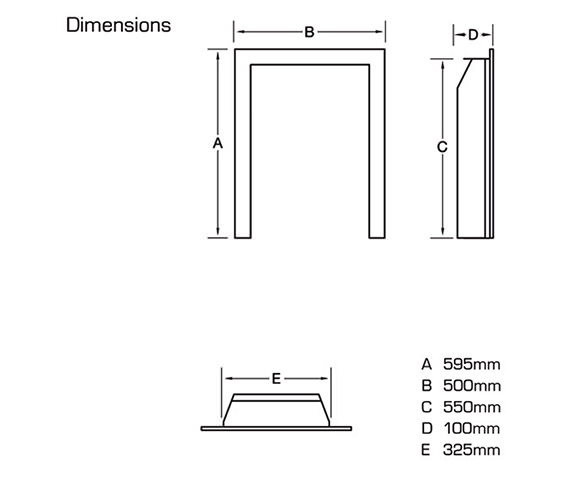 Technical drawing QS-V39768 / FIRC37MN